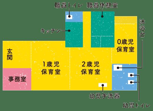 行徳保育園園内図