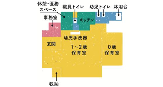 本八幡の園内図
