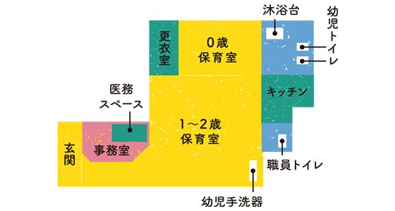 新座志木の園内図