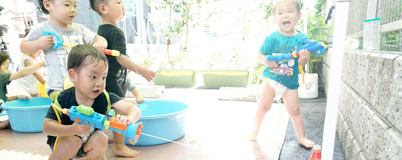 園児 外遊び