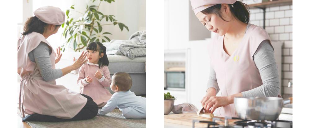子どもの対応/料理